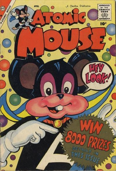 Cover for Atomic Mouse (Charlton, 1953 series) #30