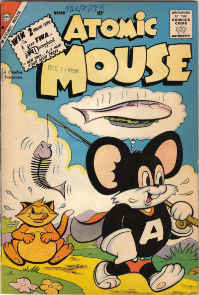 Cover for Atomic Mouse (Charlton, 1953 series) #35