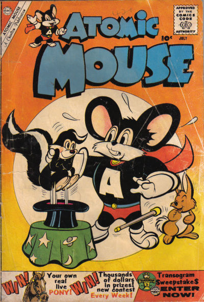 Cover for Atomic Mouse (Charlton, 1953 series) #37