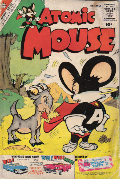 Cover for Atomic Mouse (Charlton, 1953 series) #38