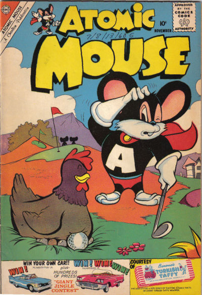 Cover for Atomic Mouse (Charlton, 1953 series) #39