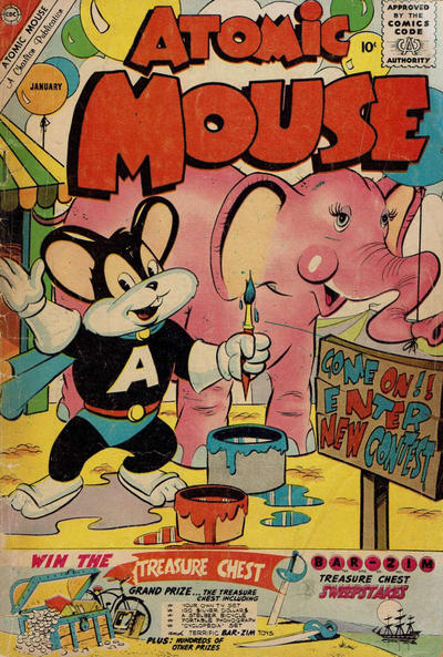 Cover for Atomic Mouse (Charlton, 1953 series) #40