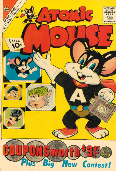 Cover for Atomic Mouse (Charlton, 1953 series) #42