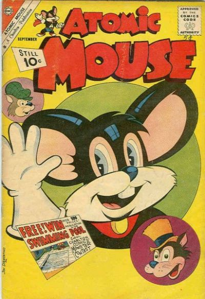 Cover for Atomic Mouse (Charlton, 1953 series) #44 [British]