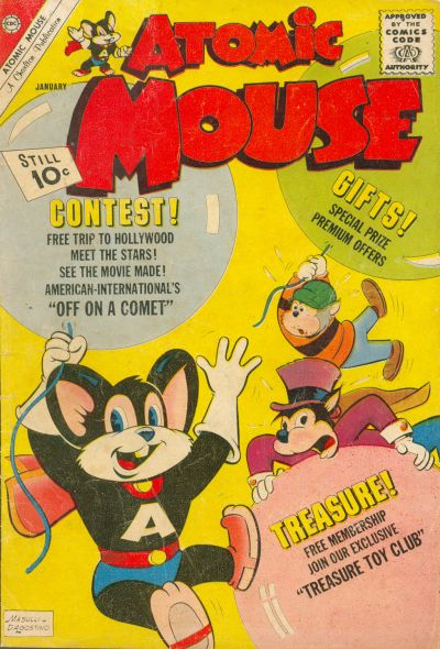 Cover for Atomic Mouse (Charlton, 1953 series) #46