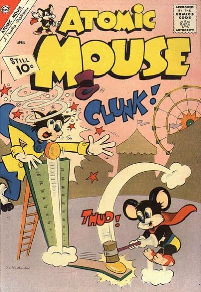 Cover for Atomic Mouse (Charlton, 1953 series) #47