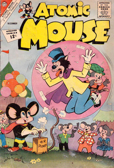 Cover for Atomic Mouse (Charlton, 1953 series) #51