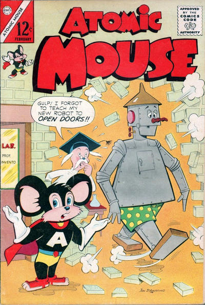 Cover for Atomic Mouse (Charlton, 1953 series) #52