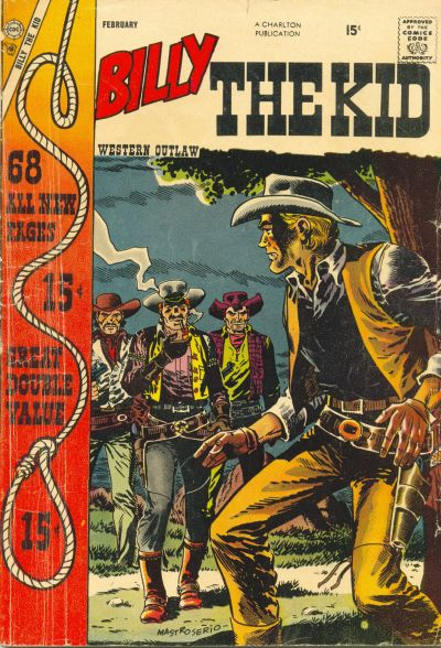 Cover for Billy the Kid (Charlton, 1957 series) #11