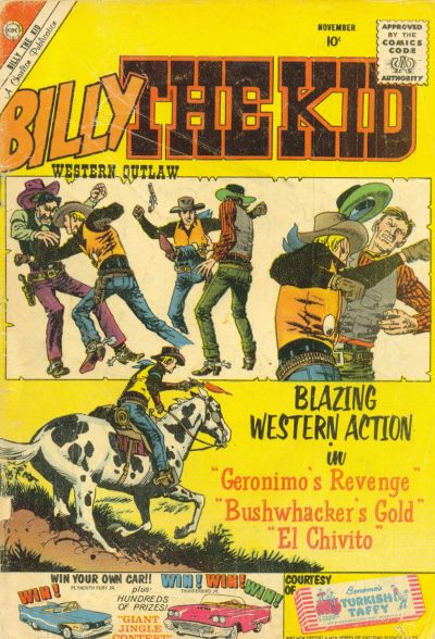 Cover for Billy the Kid (Charlton, 1957 series) #25