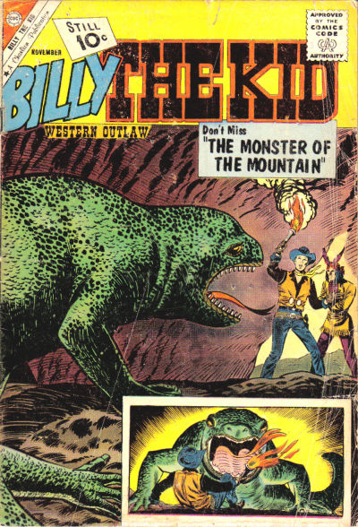 Cover for Billy the Kid (Charlton, 1957 series) #31