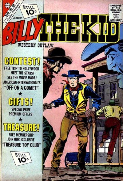 Cover for Billy the Kid (Charlton, 1957 series) #32
