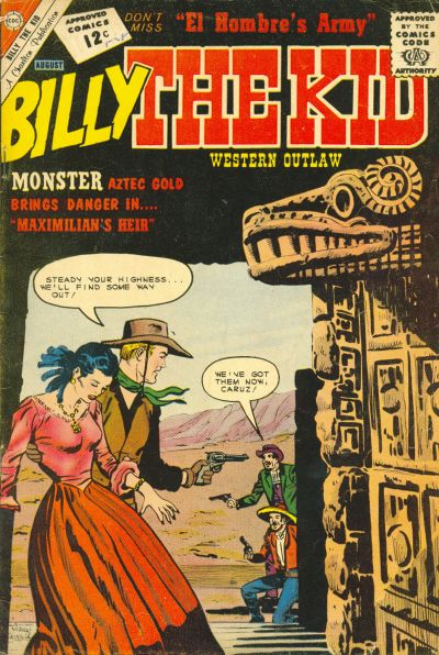 Cover for Billy the Kid (Charlton, 1957 series) #35