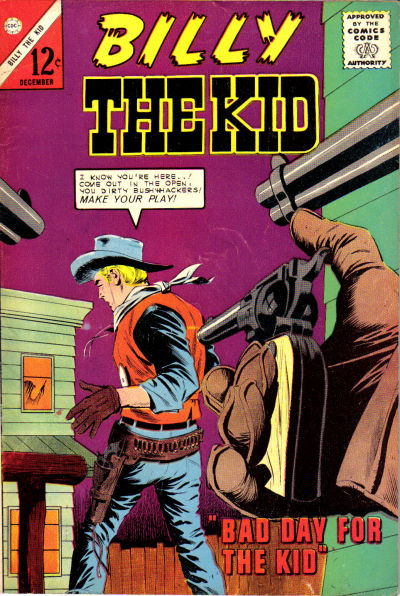 Cover for Billy the Kid (Charlton, 1957 series) #43