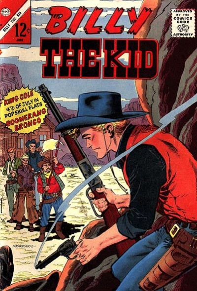 Cover for Billy the Kid (Charlton, 1957 series) #50