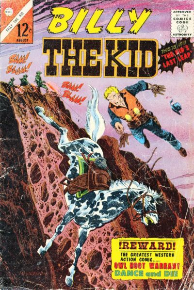 Cover for Billy the Kid (Charlton, 1957 series) #51