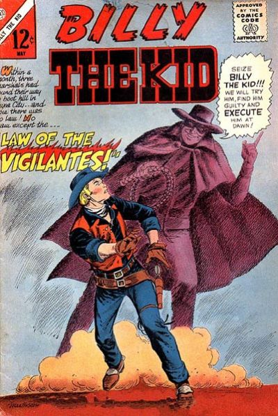 Cover for Billy the Kid (Charlton, 1957 series) #55