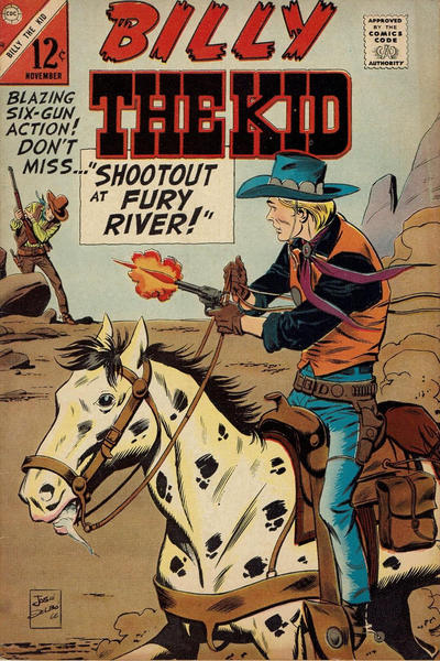 Cover for Billy the Kid (Charlton, 1957 series) #58