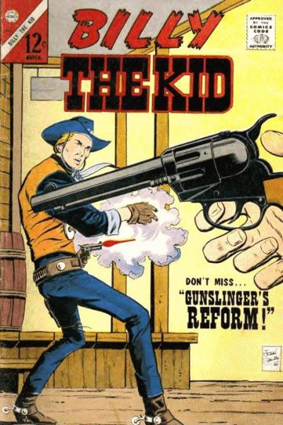 Cover for Billy the Kid (Charlton, 1957 series) #60