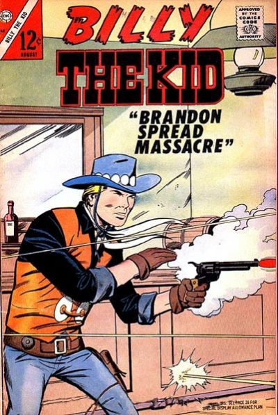Cover for Billy the Kid (Charlton, 1957 series) #62