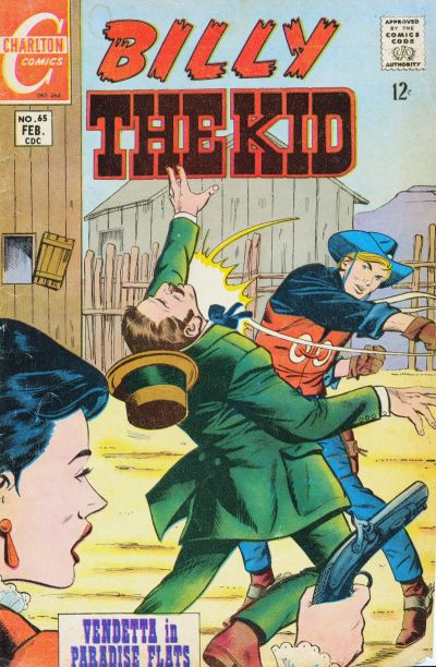 Cover for Billy the Kid (Charlton, 1957 series) #65