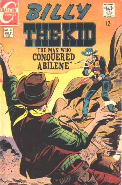 Cover for Billy the Kid (Charlton, 1957 series) #67