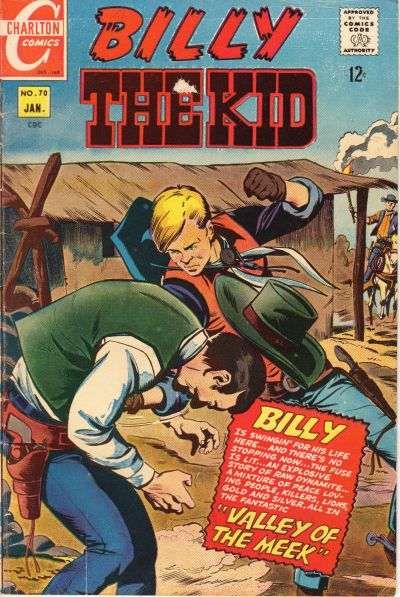 Cover for Billy the Kid (Charlton, 1957 series) #70