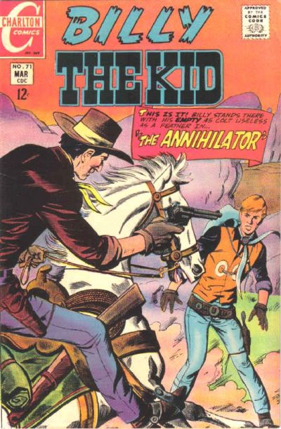 Cover for Billy the Kid (Charlton, 1957 series) #71