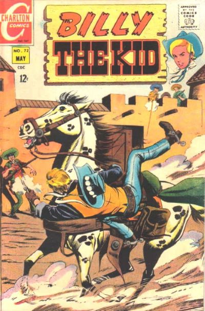 Cover for Billy the Kid (Charlton, 1957 series) #72