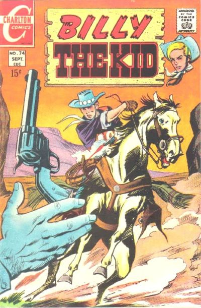 Cover for Billy the Kid (Charlton, 1957 series) #74