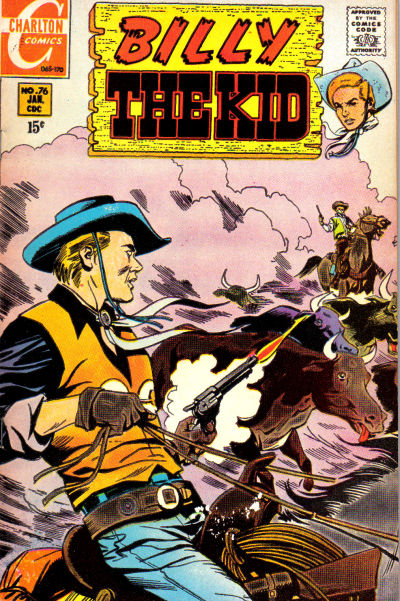 Cover for Billy the Kid (Charlton, 1957 series) #76