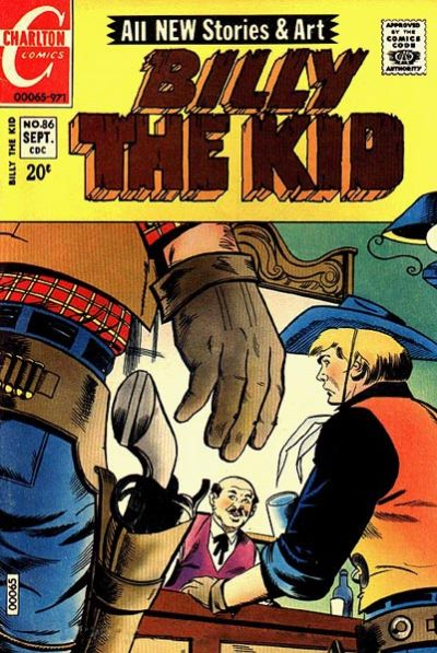 Cover for Billy the Kid (Charlton, 1957 series) #86