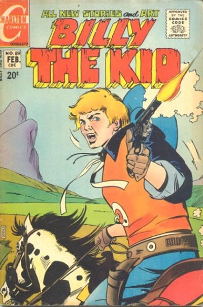Cover for Billy the Kid (Charlton, 1957 series) #89