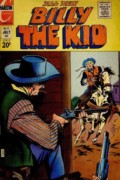 Cover for Billy the Kid (Charlton, 1957 series) #93