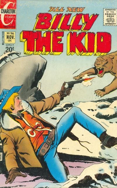Cover for Billy the Kid (Charlton, 1957 series) #96
