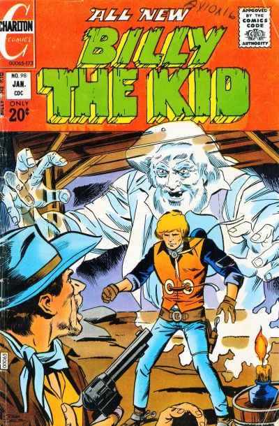 Cover for Billy the Kid (Charlton, 1957 series) #98