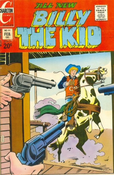 Cover for Billy the Kid (Charlton, 1957 series) #99