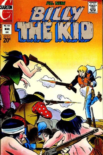 Cover for Billy the Kid (Charlton, 1957 series) #100