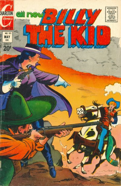Cover for Billy the Kid (Charlton, 1957 series) #101