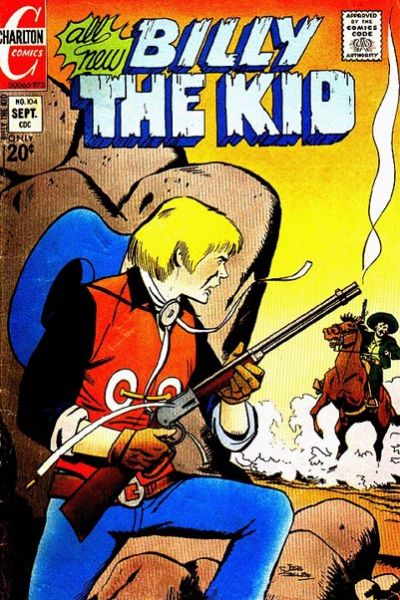 Cover for Billy the Kid (Charlton, 1957 series) #104