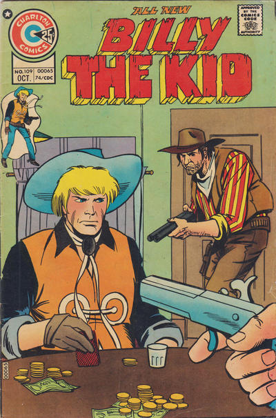 Cover for Billy the Kid (Charlton, 1957 series) #109
