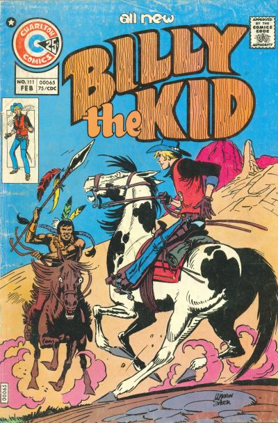 Cover for Billy the Kid (Charlton, 1957 series) #111