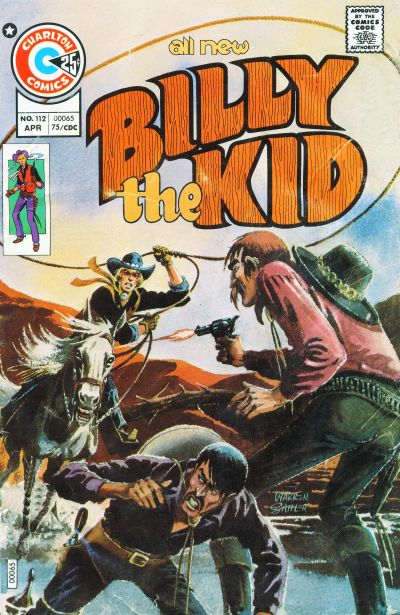 Cover for Billy the Kid (Charlton, 1957 series) #112