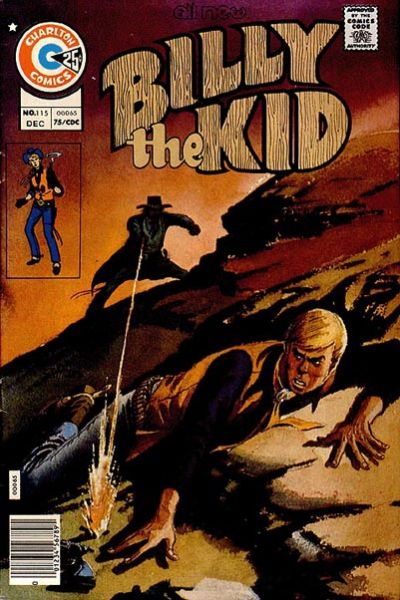Cover for Billy the Kid (Charlton, 1957 series) #115