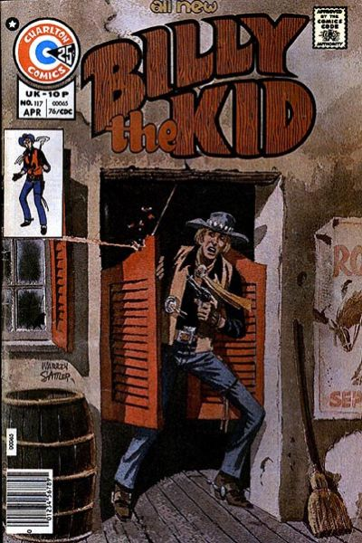 Cover for Billy the Kid (Charlton, 1957 series) #117