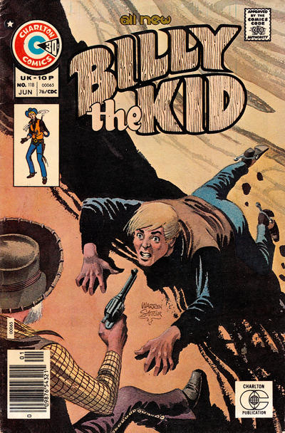 Cover for Billy the Kid (Charlton, 1957 series) #118