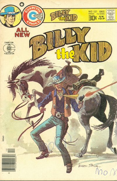 Cover for Billy the Kid (Charlton, 1957 series) #121
