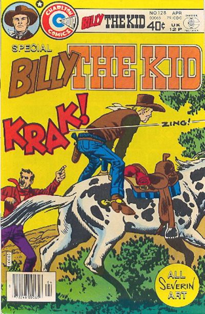Cover for Billy the Kid (Charlton, 1957 series) #128