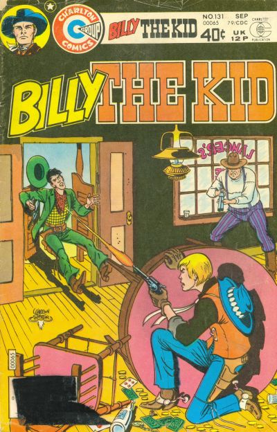Cover for Billy the Kid (Charlton, 1957 series) #131