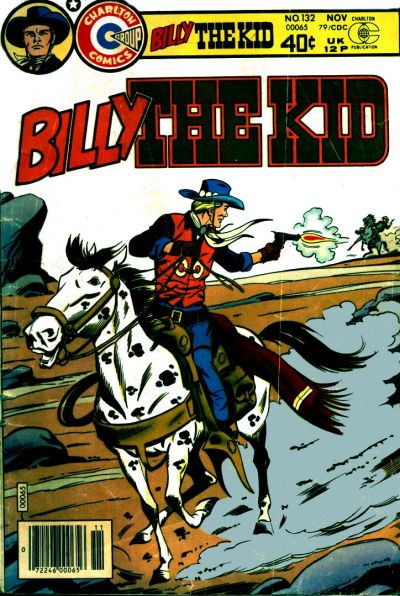 Cover for Billy the Kid (Charlton, 1957 series) #132